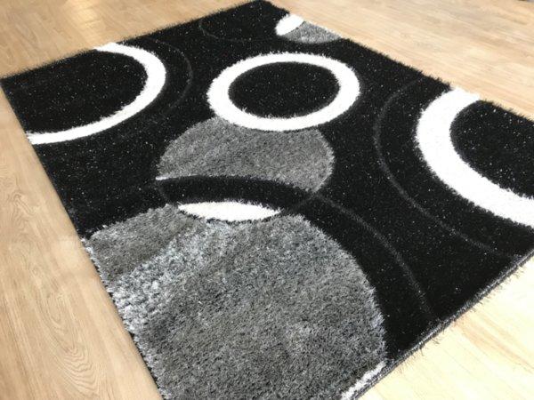 килим шаги екстра 2167 черен